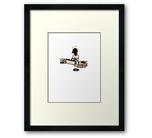 J Dilla Charlie Brown  Framed Print