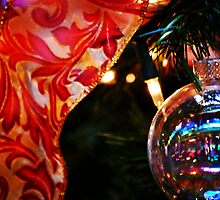 Ornament & Ribbon by Ron Hannah