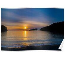 Bowman Bay Sunset Poster