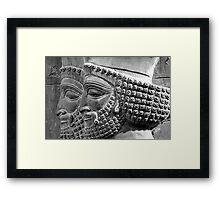 Persian Guards Framed Print
