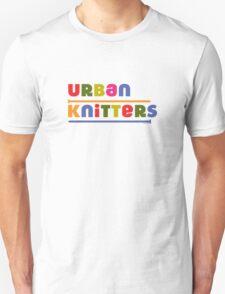 Urban Knitters - golden T-Shirt