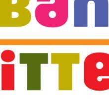 Urban Knitters - golden Sticker