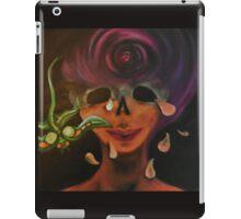 Lachrymology VI:  The Purple Eye (Realization of Self) iPad Case/Skin