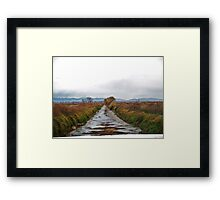 Low Farm Irrigation Framed Print