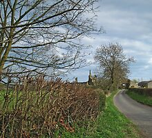 The Oldstead Road and Byland Abbey by WatscapePhoto