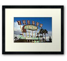 Tucson Inn Framed Print