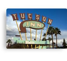Tucson Inn Canvas Print