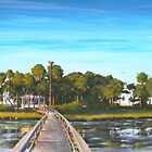 &quot; Pair-o-dice Island &quot; Beaufort SC USA by Matthew Campbell