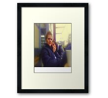 chris& therese Framed Print