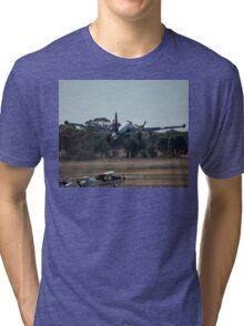 Two Turning, Two Burning - @ Temora 2007 Tri-blend T-Shirt
