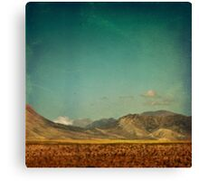 Somewhere Faraway Canvas Print