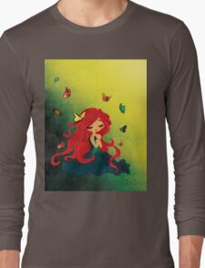 This Girl only Sleeps with Butterflies Long Sleeve T-Shirt
