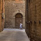 Woman in Alley - Siena by CreativeUrge