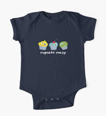 cupcake crazy - dark Kids Clothes