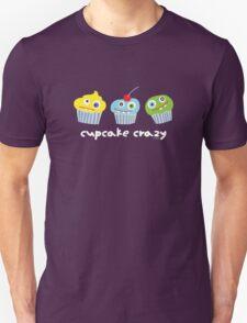 cupcake crazy - dark T-Shirt