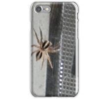 Spider, Spider, Uninvited Guest iPhone Case/Skin