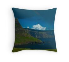 Neist Point, Isle of Sky, Scotland Throw Pillow