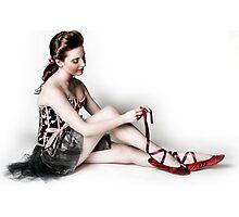 Vargas girl Photographic Print
