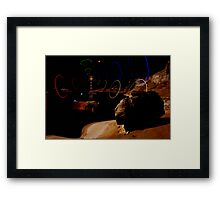Signals From the Lagoon Asteroid Framed Print