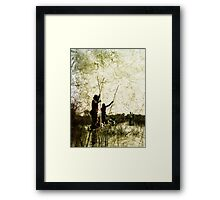 Rustic Lineage Framed Print