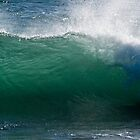 waves on the south shore by Naomi Hayes