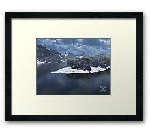 Winter's Grasp Framed Print