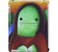 Monster Lisa (#001 of the Monster Imitates Art Collection) iPad Case/Skin