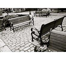 Lingering Conversations Photographic Print