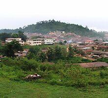 a desolate Nigeria landscape by beautifulscenes