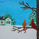 winter scene III by Joni Philbin