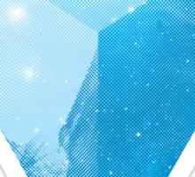 cosmic triangle Sticker