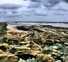 """""""A Rocky Approach to Cocklawburn Beach"""" by Bradley Shawn  Rabon"""