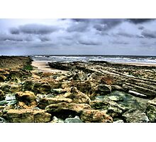 """""""A Rocky Approach to Cocklawburn Beach"""" Photographic Print"""