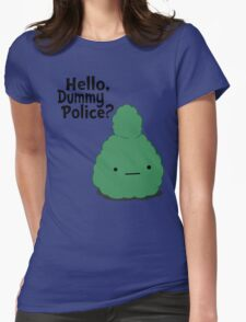 Dummy Police Womens Fitted T-Shirt