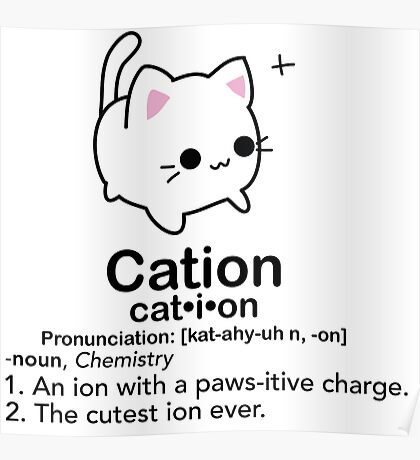 Cation  Poster