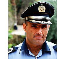Policeman Photographic Print