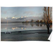 Dawn over Lake Te Anau Poster