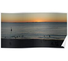 Sunset at Cottesloe Poster