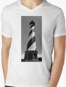 Cape Hatteras Lighthouse Mens V-Neck T-Shirt