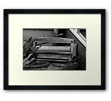 Ringer - NSW Framed Print
