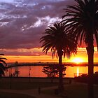 Sunset at St Kilda, Melbourne, Australia by Deb22