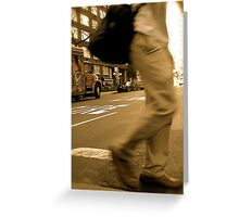 passing  by.. Greeting Card