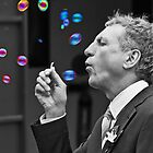 """I'm Forever Blowing Bubbles""............. by Gordon Pressley"