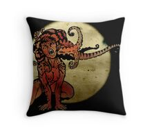 Rapt In Tentacles Throw Pillow