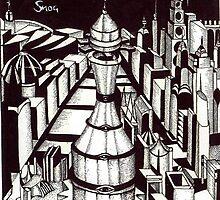 The Watchtower by John Dicandia  ( JinnDoW )