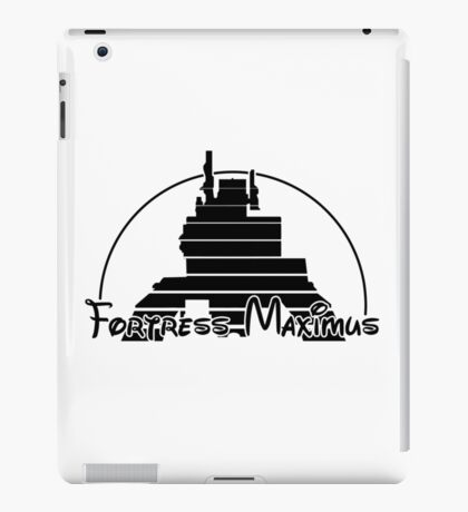The Magical World of Fortress Maximus iPad Case/Skin
