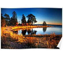 Harmonic Bay at Nature Reserve Poster