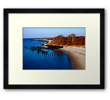 Jamaica Bay Framed Print