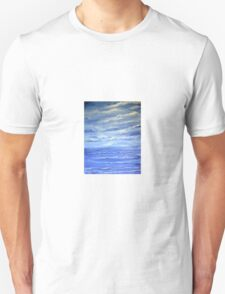 A Study in Blue and White T-Shirt