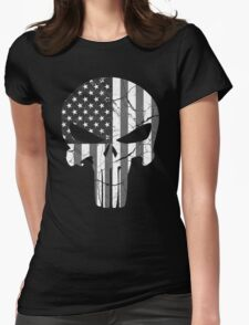 American Punisher - Subdued Womens Fitted T-Shirt